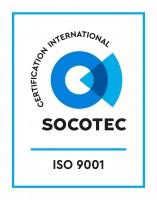 ISO 9001 logo Socotec